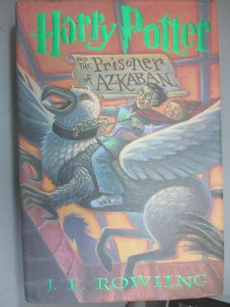 【書寶二手書T3/原文小說_JMW】Harry Potter and the Prisoner of Azkaban_J.K.Rowling