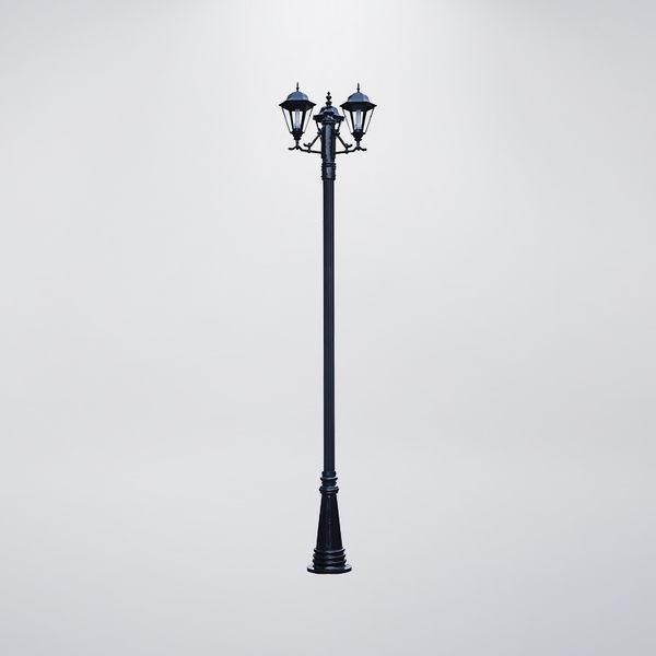 六角屋型戶外庭園燈 三燈防水型 可客製化 可搭配LED