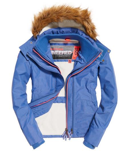 美國代購 現貨 Superdry 極度乾燥 Sherpa SD-Wind Attacker 絨毛連帽防風夾克(XL)