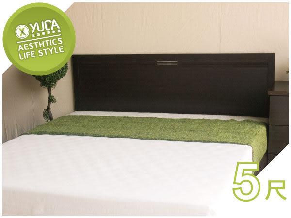 床頭板【YUDA】莉亞 5尺雙人 床頭片/床頭板 (非床頭箱/床頭櫃) 6色可選 新竹以北免運