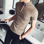 男短袖T恤半截袖打底衫社會休閒POLO衫