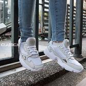 【現貨折後2999】- adidas 老爹鞋 Falcon W 白 灰 皮革鞋面 復古 老爺鞋 運動鞋 女鞋 B28128
