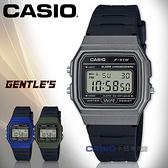 CASIO手錶專賣店   F-91WM-1B 復古方形電子男錶 樹脂錶帶 黑色錶面 防水 碼錶功能 F-91WM