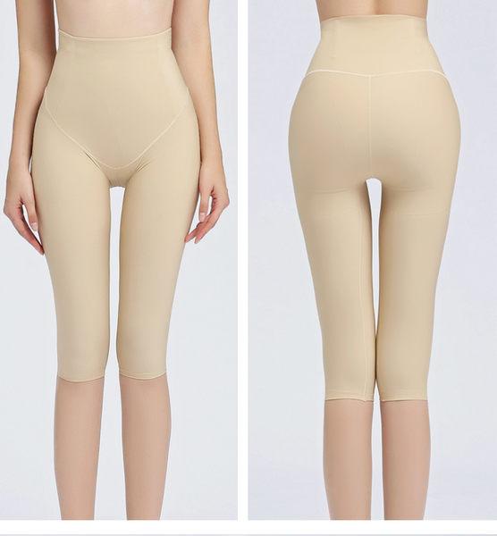 產後束身褲夏季收腹褲 纖大腿褲提臀束腰五分美體內褲  - janm003