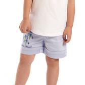【愛的世界】鳶尾花休閒反褶短褲/6歲-台灣製-  ---春夏下著 夏出清
