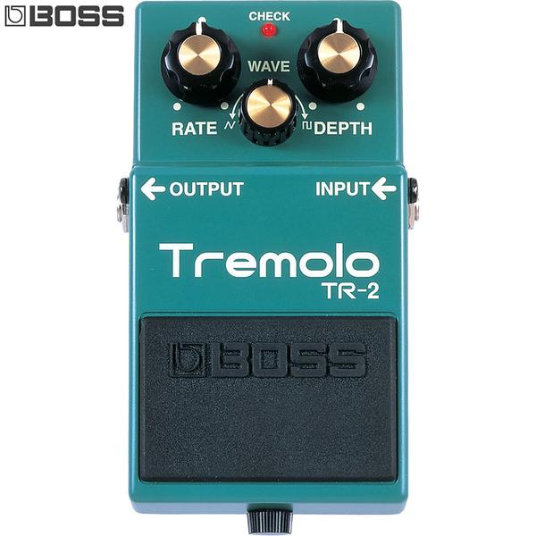 小叮噹的店- 單顆效果器 調變系 BOSS TR-2 Tremolo 經典顫音效果