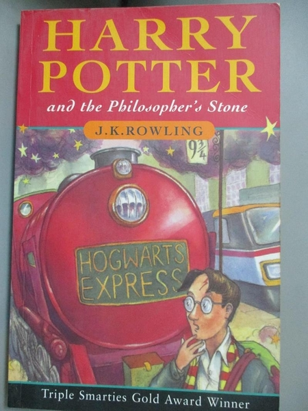 【書寶二手書T3/原文小說_GLJ】Harry Potter and the Philosopher s Stone_J. K. Rowling