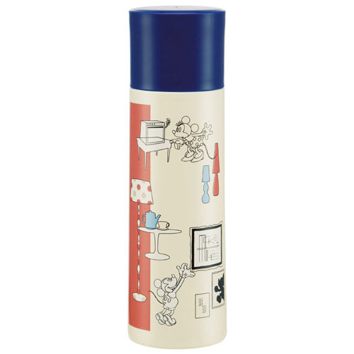 《SKATER》迪士尼米奇室內設計系列保溫保冷兩用不鏽鋼瓶(370ml)★funbox生活用品★_AT24110