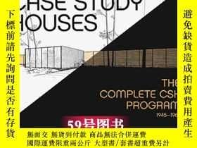 二手書博民逛書店Case罕見Study Houses 房屋案例研究室項目 樣板房案例分析 現代住宅居住空間房子設