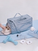 乾濕分離游泳運動健身包女小輕便手提大容量 短途旅行袋行李男 潮流