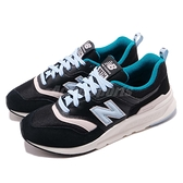 New Balance 復古慢跑鞋 997 NB 黑 藍 麂皮鞋面 運動鞋 女鞋【ACS】 CW997HNBB