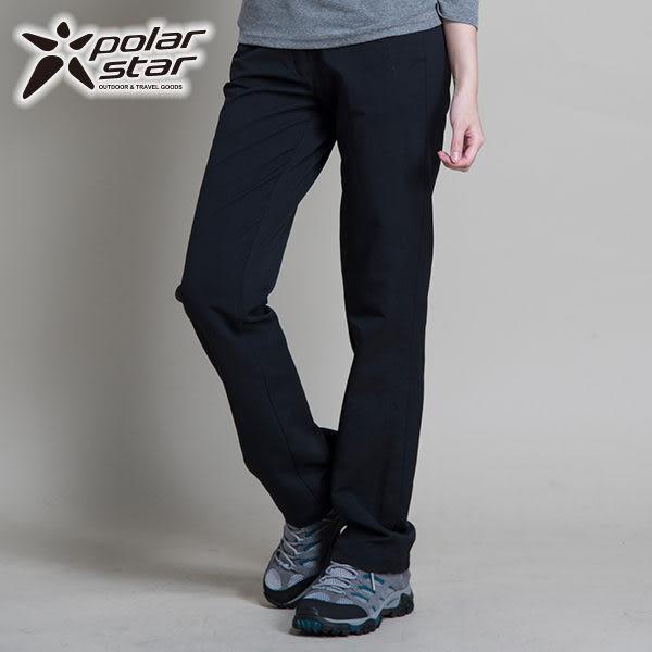 Polarstar 女 輕量│防潑水│保暖褲 P14404『黑』