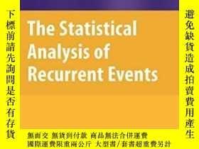 二手書博民逛書店The罕見Statistical Analysis Of Recurrent EventsY364682 Ri