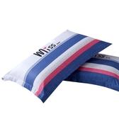 學生單人護頸椎枕沙發床上枕芯加枕套套裝枕頭帶枕套成人整頭wy 【快速出貨】