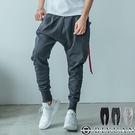 台灣製 厚磅棉褲【OBIYUAN 】 大口袋 飛鼠褲 休閒褲 縮口褲 共3色【JG3093】