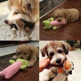 狗狗玩具磨牙發聲小型犬毛絨寵物用品xx1827 【VIKI菈菈】