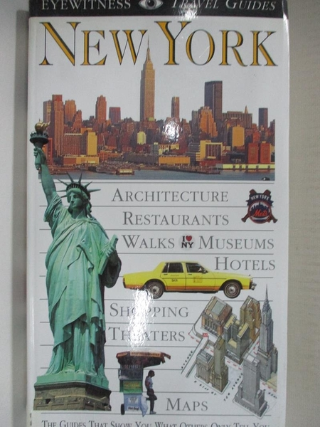 【書寶二手書T8/旅遊_HZR】Eyewitness Travel Guide to New York_Eleanor Berman