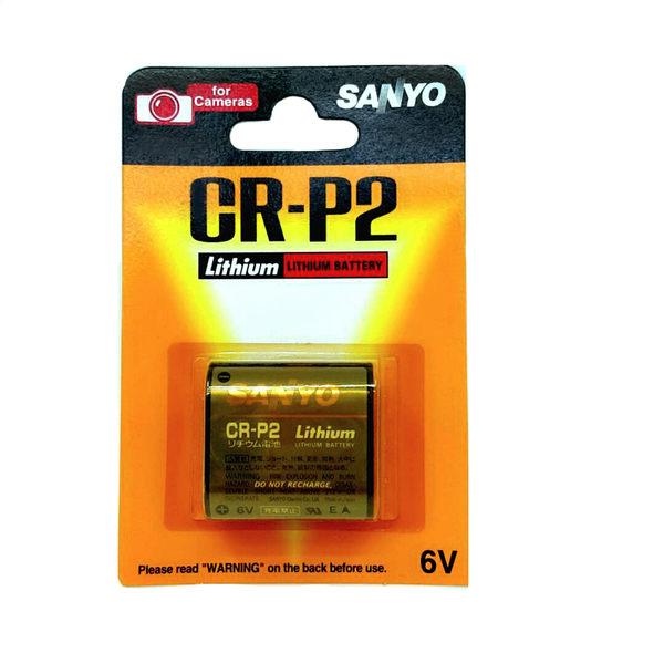 [ 中將3C ]  SANYO   照相機用鋰電池  CR-P2   (SA-CRP2 )