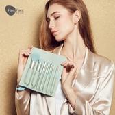 化妝刷 Fakeface化妝刷套裝眼影刷子化妝工具散粉腮紅粉底刷唇刷7支全套 京都3C