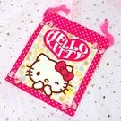 Hello Kitty 束口袋 日本製正版 sanrio