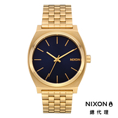 NIXON TIME TELLER 小靛藍金 / 極簡復刻錶款 A045-2033 NIXON官方直營