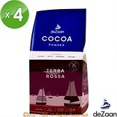 【南紡購物中心】【deZaan】荷蘭原裝進口Terra Rossa經典羅莎可可粉(1公斤)4入組