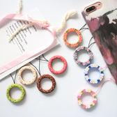 手機掛繩可愛小手繩OPPO掛繩掛件短指環繩手機iPhone7plus/6s/8/X蘋果潮款    麻吉鋪