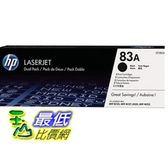 [COSCO代購] HP CF283A 黑色碳粉匣 _W61640