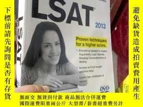 二手書博民逛書店Cracking罕見the LSAT with DVD, 201