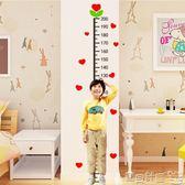 身高墻貼 簡約卡通測量身高貼裝飾兒童房間臥室幼兒園墻面3d立體墻貼畫貼紙 寶貝計畫