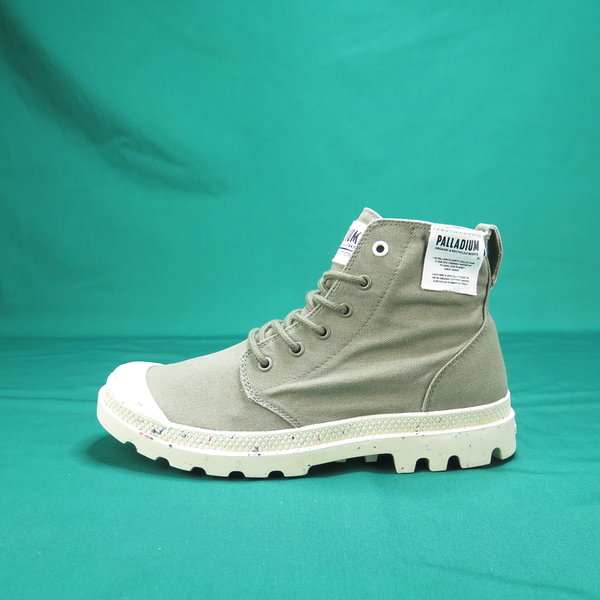 Palladium PAMPA HI ORGANIC 高統靴 正品 06199377 軍綠色 男款【iSport愛運動】