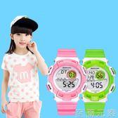 古騰兒童手錶男孩女孩防水夜光可愛小學生電子錶小孩男童女童手錶 至簡元素