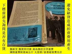 二手書博民逛書店原版英法德意等外文罕見PARADE DER MANNENBROE