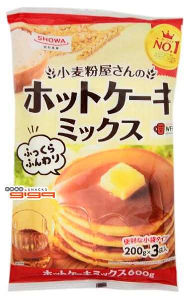【吉嘉食品】SHOWA 昭和 小麥粉屋鬆餅粉 每包600公克,日本進口 {4901760899414}[#1]