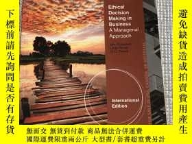 二手書博民逛書店ETHICAL罕見DECISION MAKING IN BUSINESS A MANAGERIAL APPROAC