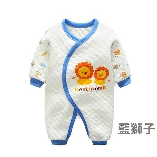 超低折扣NG商品~長袖連身衣 空氣棉寶寶兔裝 可愛動物嬰兒服 LW4467 好娃娃
