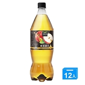 美粒果蘋果蘇打1250mlx12【愛買】