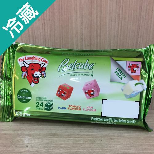 笑牛迷你乾酪(綠) 125G /包【愛買冷藏】