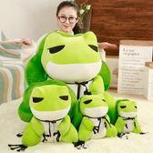 可愛小青蛙毛絨玩具公仔二次元周邊抱枕玩偶娃娃可愛女孩生日禮物XSX