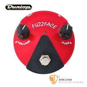 Dunlop FFM2 迷你FUZZ破音效果器 (鍺電晶體)【FFM-2/Germanium Fuzz Face Mini Distortion】