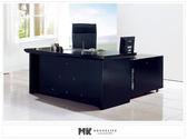 【MK億騰傢俱】ES604-01舊金山5.8尺主管辦公桌(含主管桌*1、活動櫃*1、側櫃*1)