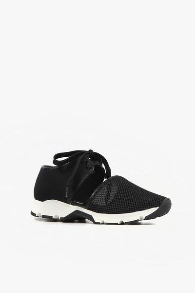 ALL BLACK  實心網格運動鞋  (黑色)