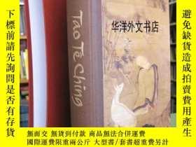 二手書博民逛書店【罕見】2010年英文版 《道德經》超大開本 高29釐米 帶盒Y