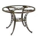 休閒桌子│90cm玫瑰玻璃圓桌.公園桌.庭院桌.庭園桌.庭院傢俱.古典裝飾.花園造景.推薦