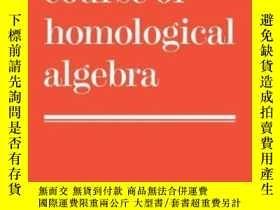 二手書博民逛書店A罕見First Course Of Homological AlgebraY255562 D. G. Nor