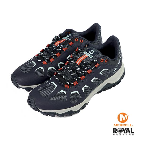 Merrell Fiery Gtx 藍色 網布 健行 防水 運動鞋 女款 NO.I9981【新竹皇家 ML99684】