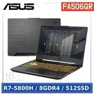 """【SteelSeries Apex RAW 鍵盤】ASUS FA506QR-0102A5800H (15.6""""FHD/R7-5800H/8G/512G PCIe/RTX 3070 6G)"""