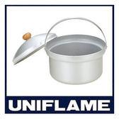 日本 UNFLAME 鋁合金煮飯鍋 (號稱 不失敗煮飯鍋 ) Fan Rice Cooker DX 3.2L 660089 露營用品 湯鍋 鍋子