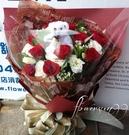 紅色愛戀--情人花束.生日花束.聖誕花束