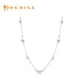 925純銀「相戀」天然珍珠項鍊 銀飾珠寶/情人禮物